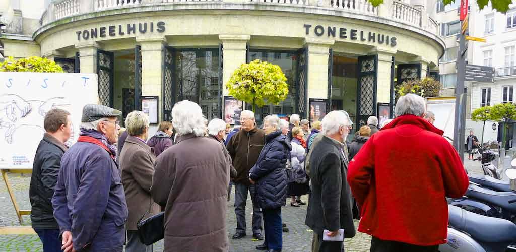 Uitstap naar Antwerpen in 2011 (foto credits: Christa Simon)