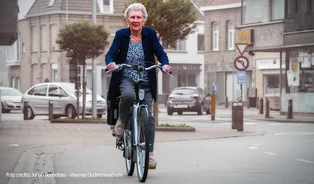 Senioren en veiligheid (Foto credits: Johan Boonefaes - Vlaamse Ouderenraad vzw)