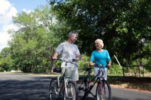 Happy retired couple (foto credits: Larry Flynn)