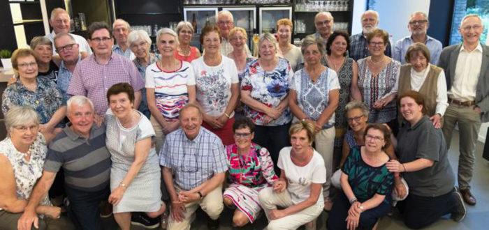 Vrijwilligers van Seniorenraad 55+ Hoeilaart - 23 mei 2018 (foto credits: Jan Van Assche)