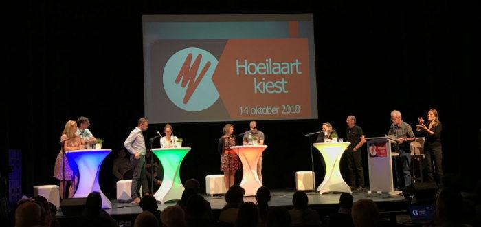 Het verkiezingsdebat op donderdag 4 oktober in GC Felix Sohie (foto credits: Eddy Olislaeger)