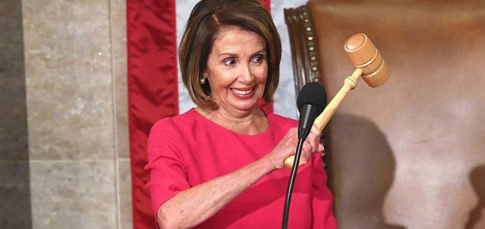 Speaker of the House Nancy Pelosi januari 2019 (foto credits: Ryan Saavedra - www.dailywire.com)