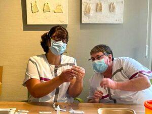 Vaccinaties in WZC Hof Ten Doenberghe (foto: Hof Ten Doenberghe)