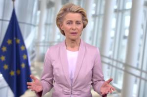 Commissievoorzitter Ursula von der Leyen (foto credits: EU Commissie)