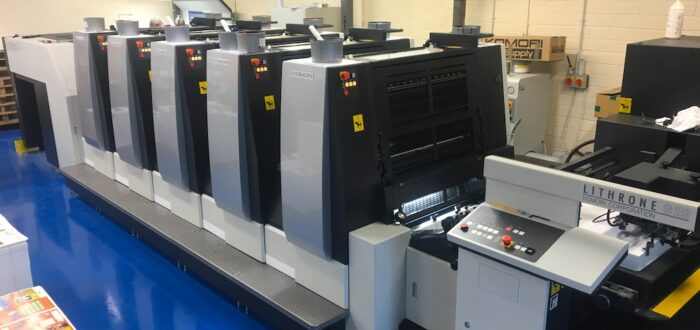 Printing press (foto credits: Komori Europe)