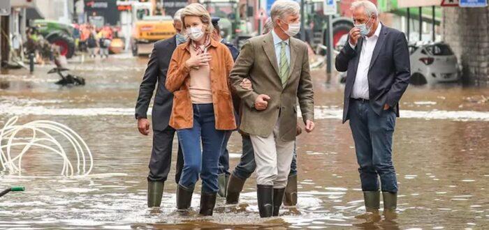 Overstromingen (foto credits: 7sur7)